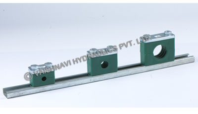 Rail Mounted Tube Clamps